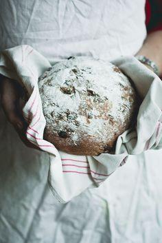 Gluten Free Christmas Raisin Bread | Baking Magique gluten free recipes