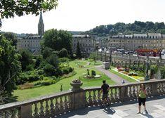 Parade Gardens, Bath, Somerset, England