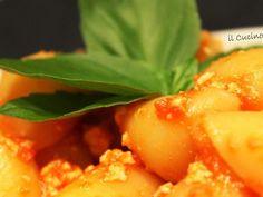 Ricetta Lumache al ragu' di tofu, da Cucinotto - Petitchef