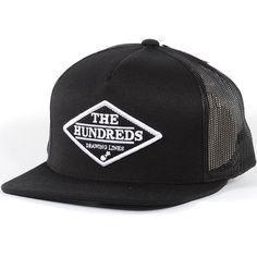 The Hundreds Gem Snapback Hat (Black) $25.95