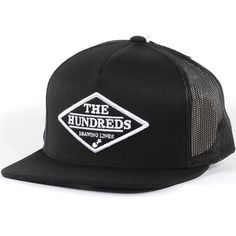 The Hundreds Gem Snapback Hat (Black) $25.95