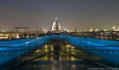 St Paul's Cathedral from the Millennium Bridge, London *I'll NEVER forget this view!
