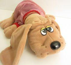 Vintage 1985 Tonka Toys Full sized Pound Puppy by SandyLeesAttic, $6.95 ItsB4Chrstmas