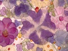 Pounding fresh flowers onto fabric for pigment - I just like the image itself. Diy Crafts To Do, Diy Arts And Crafts, Gelli Plate Printing, How To Preserve Flowers, Nature Crafts, How To Dye Fabric, Fabric Painting, Flower Crafts, Fabric Scraps