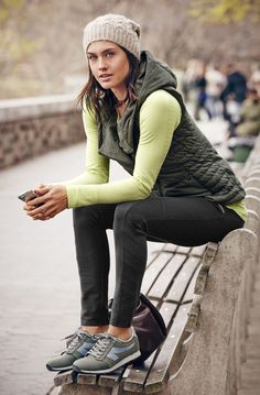 Lovely >> You can still workout - and look fashionable - in the winter months! The key? La...