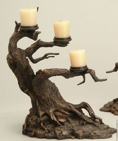 34 Wood Home Decor DIY Inspiration To Have This Year home pictures Driftwood Candle Holders, Driftwood Lamp, Driftwood Projects, Wood Home Decor, Diy Home Decor On A Budget, Diy Inspiration, Diy House Projects, Candle Stand, Home Crafts