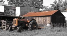 Vintage Nuffield by Dennis Faller