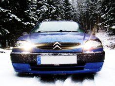 Blue winter snow trees lights cars citroen saxo (3488x2616, winter, snow, trees, lights, cars, citroen, saxo)  via www.allwallpaper.in