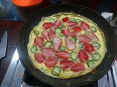 Strawberry Omelette only at EggFactor Street House - Bangalore