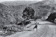 Henri Cartier-Bresson: Mountain Road, Lastichi Plateau (Epirus), 1956