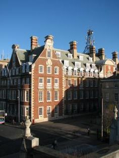 """The grand headquarters of the North Eastern Railway (NER), """"a huge palace of business"""", was completed in Continental Europe, Irish Sea, North Sea, North Yorkshire, Palace, United Kingdom, England, Mansions, House Styles"""