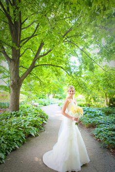 Morton Arboretum Wedding Lisle Illinois by Elena Bazini Photography.