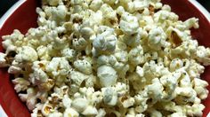 Garlic, Herb and Parmesan Popcorn... Not Your Average Popcorn!!