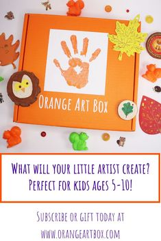 Fun family crafts with endless possibilities! Check out this months box or visit our website for even more fun crafts. We have one mission - to make kids smile! Fun Crafts, Crafts For Kids, Arts And Crafts, Foam Paint, Orange Art, Wooden Tree, Toddler Art, Family Crafts, Paint Drying
