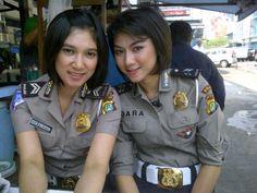 Eka & Dara   #Polwan #cantik #Polisi #Indonesia