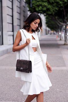 White New Fashion, Fashion Looks, Womens Fashion, Viva Luxury, Modelista, Cool Style, My Style, Passion For Fashion, Spring Summer Fashion