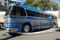 custom pd 4104 gm bus     GM COACH PD4104 1954
