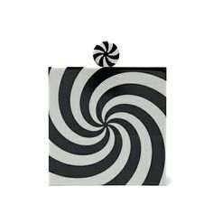 Shop now: Charlotte Olympia Swirl Square Clutch