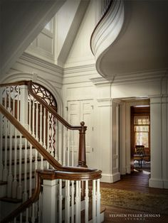 Stair Hall - traditional - staircase - atlanta - Stephen Fuller Designs