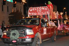 https://flic.kr/p/PT35Tc | Welcome to Who Ville | 2016 December 9, Florence Christmas Parade Nikon D7200