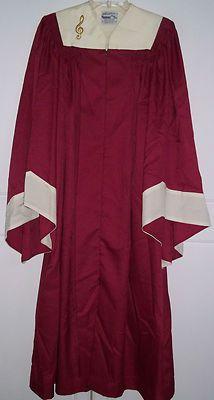 Regency Dark Pink Raspberry Choir robe