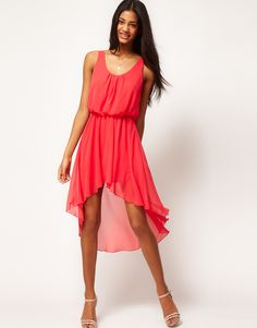I'm loving this high/low dresses, especially in this color!
