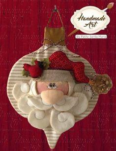 Christmas Sewing, Christmas Fabric, Primitive Christmas, Christmas Colors, Handmade Christmas, Christmas Holidays, Christmas Crafts, Christmas Decorations, Santa Crafts