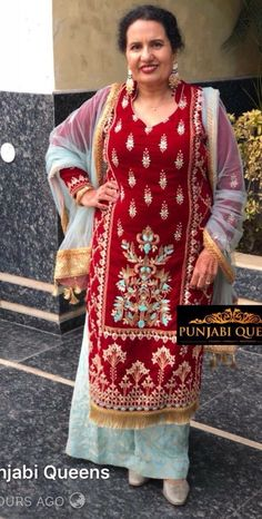 Party Wear Indian Dresses, Pakistani Formal Dresses, Pakistani Dress Design, Punjabi Fashion, Indian Fashion, Designer Punjabi Suits Patiala, Plazzo Suits, Indian Block Print, Boutique Suits