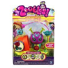 Zoobles Mama and Babies + Happitat - Snail by Zoobles. $17.94. Shared Happitat with Hot Spots and Bassinet^Zoobling Fits Inside of Mama?s Belly^Both Mama and Zoobling Spring to Life^Includes 1 Mama Zooble, 1 Happitat and 1 Baby Zoobling^. From the Manufacturer                Meet Mama and her Baby Zoobling. Mama is bigger than most other Zoobles and can hold her baby right inside her belly. Their shared Happitat comes with a hot spot for mom and a bassinet for ba...