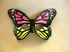 Butterfly Leather Mask  Adult or Child Sizes  by LovelyLiddy