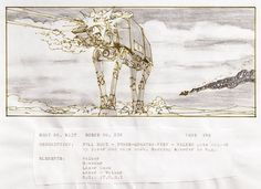 The original Star Wars storyboards - in pictures