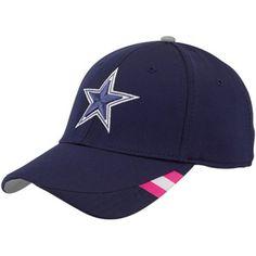 Reebok Dallas Cowboys Breast Cancer Awareness Coaches Sideline Hat Cowboys  Playoffs b82c43db7