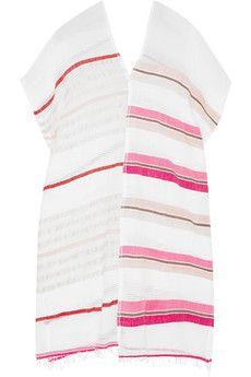 LemLem Amash striped cotton-blend gauze tunic | NET-A-PORTER