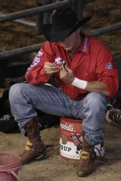 Bull riders get me every time, love the fact that I have one all to myself :)