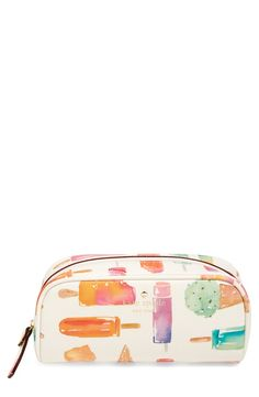 Free shipping and returns on kate spade new york 'cedar street - popsicle berrie' cosmetics case at Nordstrom.com. Stash your get-glam essentials in a sweet cosmetics case that's big on fun but small enough to toss in your handbag or stow in your luggage.