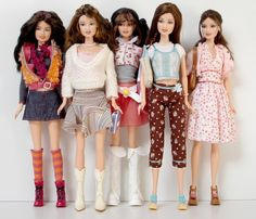 Barbie Fashion Fever - Teresa Dolls