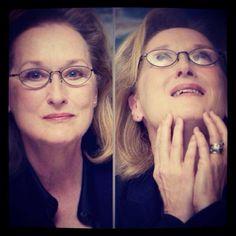 Meryl Streep. Amazing talent!