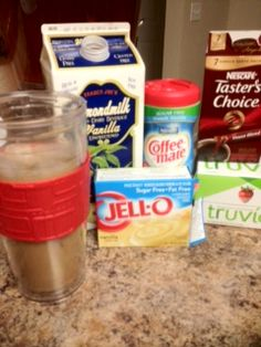 Sugar Free Iced Coffee  35 Cals, 0 sugar, 3 carbs.