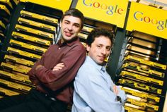 """The """"google guys"""" Sergey Brin & Larry Page"""
