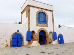 Restaurant by the port of casablanca