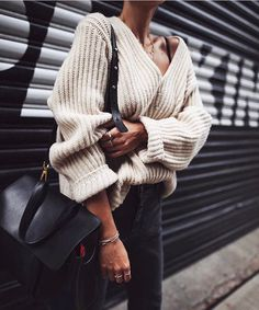 """733 Likes, 5 Comments - who . wear . what (@who.wear.what) on Instagram: """"chunky knit 