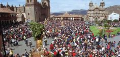 #Corpuschristi Festival in #Cusco unites people from all over the world.