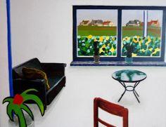 Roger Raveel - Space in the studio - Roger  Raveel