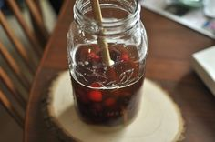 Drink Week, Day Two: Cherry Bounce and Other Boozy Infusions - Food in Jars | Food in Jars