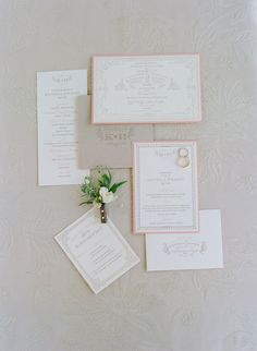#paper-goods, #stationery  Photography: Elizabeth Messina - elizabethmessina.com  Read More: http://www.stylemepretty.com/2013/08/15/ojai-valley-inn-spa-wedding-from-elizabeth-messina-photography/