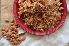 Quick and Easy Sweet Almond Crumble - Lime and Linen Real Homemade, Homemade Almond Milk, Homemade Butter, Fudge Recipes, Almond Recipes, Coconut Cookies, Fresh Bread, Other Recipes, Tray Bakes