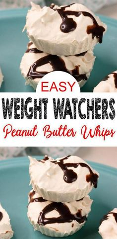 3 Ingredient Weight Watchers Dessert - The BEST Weight Watchers Recipe - Chocolate Peanut Butter Whips {Easy - No Bake} Chocolate peanut butter Weight Watchers idea! Check out this NO BAKE Weight… Weight Watcher Desserts, Weight Watchers Snacks, Plats Weight Watchers, Weight Watchers Fluff Recipe, Ww Desserts, Dessert Recipes, Recipes Dinner, Dinner Ideas, Cheesecake Recipes