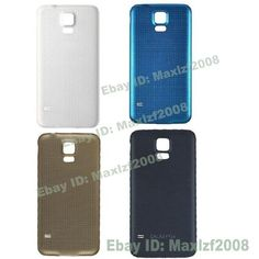 New Back Cover Battery Door For Samsung Galaxy S5 i9600 G900T With Sam Logo