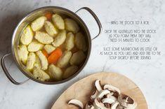 Rachel Khoo's recipe for Chicken Dumpling Soup from The Little Paris Kitchen.