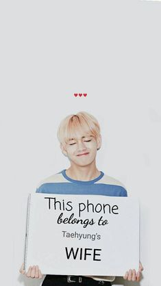 For taehyung Stan's Bts Jungkook, V Taehyung, K Pop, Bts Citations, Dont Touch My Phone Wallpapers, V Bts Cute, V Bts Wallpaper, Bts Wallpaper Iphone Taehyung, Bts Qoutes